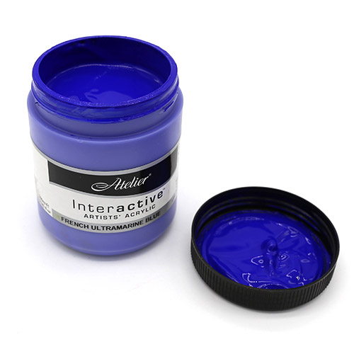 아뜰리에500ml french ultramarine blue 210 A-04-025